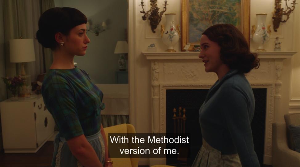 methodist marvelous mrs. maisel