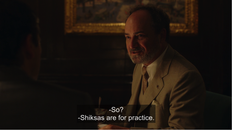 shiksas are for practice marvelous mrs. maisel