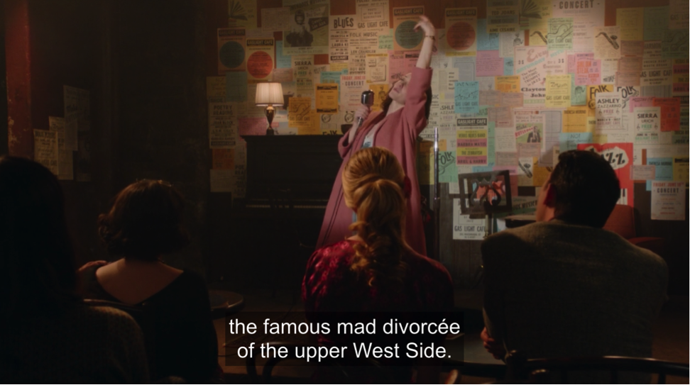 marvelous mrs. maisel stand-up