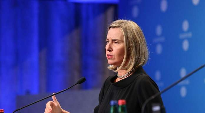 Foreign Affairs chief of the European Union Federica Mogherini. Credit: Annika Haas (EU2017EE) via Flickr.