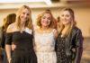 Lori Polin between daughters Marisa (at left) and Alexa.
