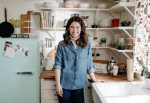 "Host Molly Yeh, as seen on ""Girl Meets Farm,"" Season 1. Credit: Food Network."