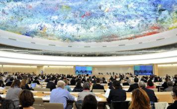 The U.N. Human Rights Council chamber in Geneva. Credit: U.N. Photo/Jean-Marc Ferré.
