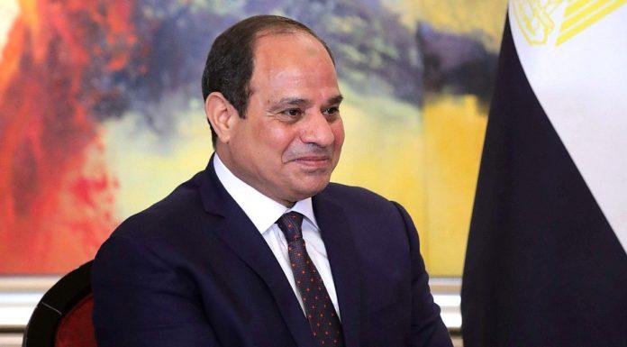 President of Egypt Abdel Fattah el-Sisi.