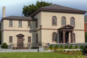 Touro Synagogue in Newport, R.I. Photo: Courtesy of Touro Synagogue