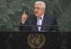 Palestinian Authority President Mahmoud Abbas addresses the general debate of the U.N. General Assembly on Sept. 20, 2017. Credit: U.N. Photo/Cia Pak.