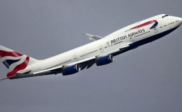A British Airways aircraft. Credit: Pixabay.