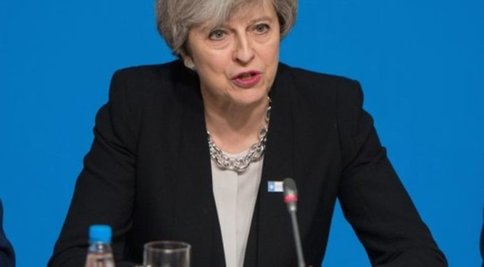 Prime Minister of the United Kingdom Theresa May. Credit: U.S. Air Force Staff Sgt. Jette Carr/Department of Defense.