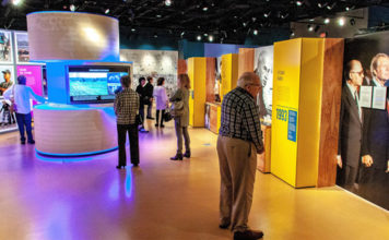 Overview of Israel exhibit now on display at the Maltz Museum in Cleveland