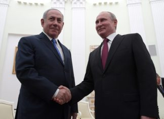 Vladimir Putin discussed with Prime Minister of the State of Israel