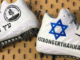 Patriots wide receiver Julian Edelman wore these cleats on Dec. 16, 2018 to remember the 11 Jewish victims of the Oct. 27 shooting at the Tree of Life*Or L'Simcha Synagogue in Pittsburgh. Credit: Julian Edelman/Twitter.