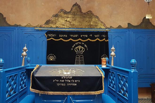 Chaim Pinto synagogue in Essaouira, Morocco