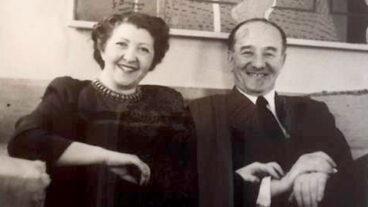 Charlotte and Louis Bergman, circa 1950. Credit: Yair Talmor via Wikimedia Commons.